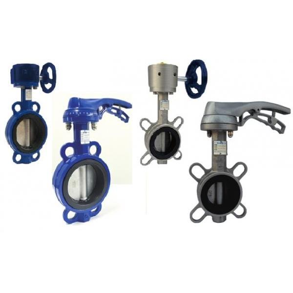 Butterfly Valve with Handle